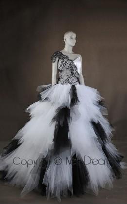 abito da sposa  V5726