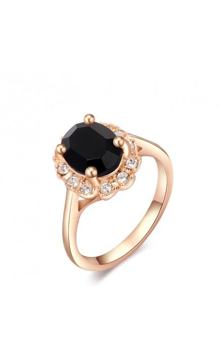 anelli vintage chic oro rosa e diamanti sintetici