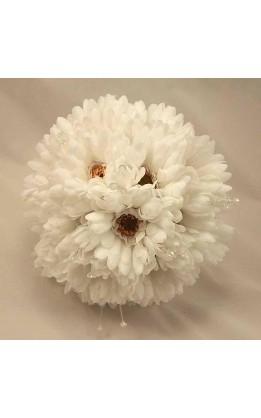 Bouquet sposa Gerbere bianche