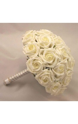 Bouquet sposa rose  avorio