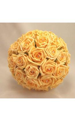 Bouquet sposa rose dorate