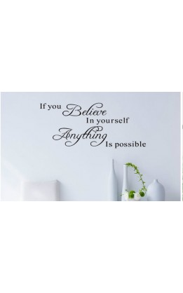 Wall sticker con frasi