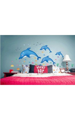 Wall sticker delfini