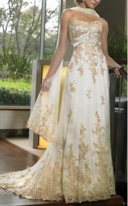 abito da sposa H1014