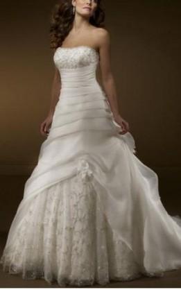abito da sposa H1021
