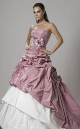 abito da sposa H1022