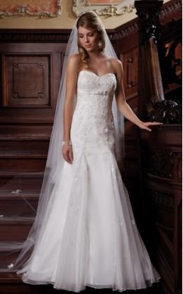 abito da sposa H1041