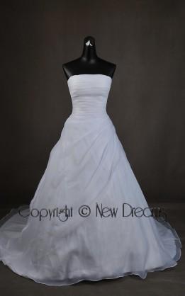 abito da sposa  tg 42/44 modello esclusivo con coprispalle