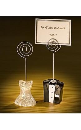 Segnaposto sposa&sposo