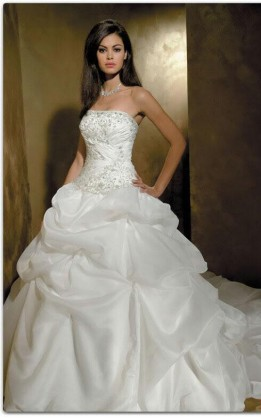 abito da sposa V1014