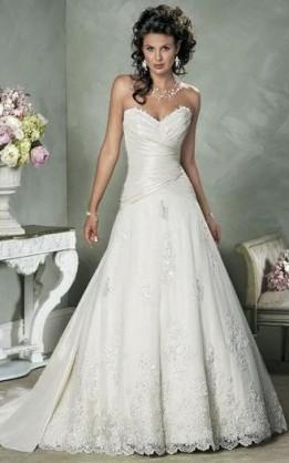 abito da sposa V1015