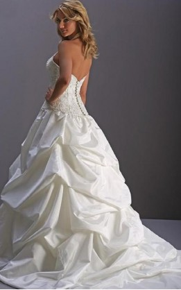 abito da sposa V1020