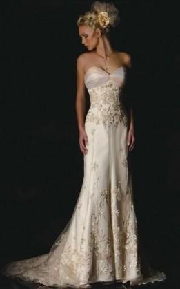 abito da sposa V1029