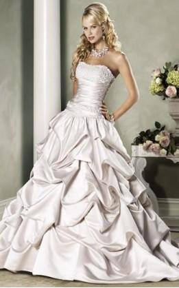 abito da sposa V1023