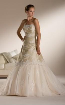abito da sposa V1038