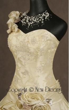 abito da sposa V1048