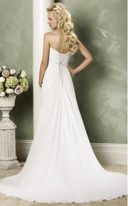abito da sposa V1207
