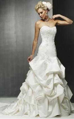 abito da sposa V1209
