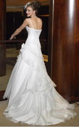 abito da sposa V1218