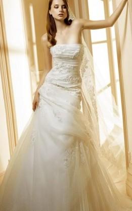 abito da sposa V1222