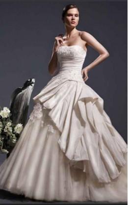 abito da sposa V1224