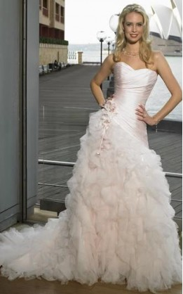 abito da sposa V1228