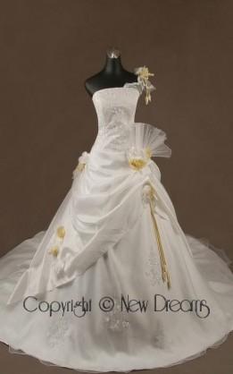 abito da sposa V1229