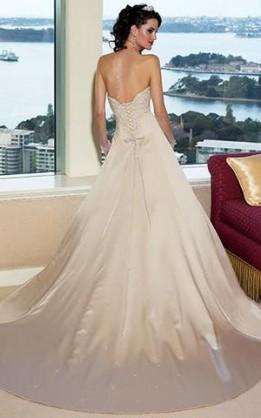 abito da sposa V1234