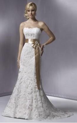 abito da sposa V1235