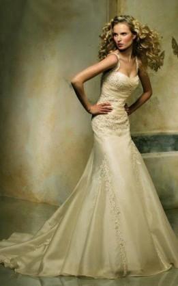 abito da sposa V1241