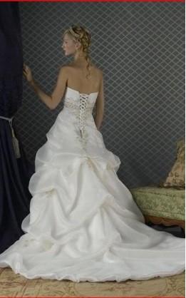 abito da sposa V1247