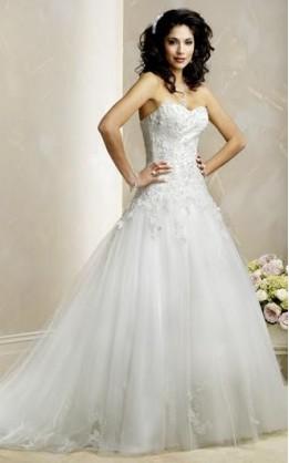 abito da sposa V1248