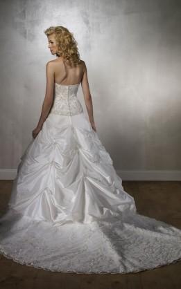 abito da sposa V1249