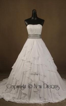 abito da sposa V2028