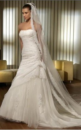 abito da sposa V2030