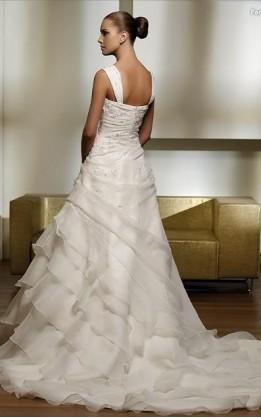 abito da sposa V2031