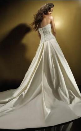 abito da sposa V2033