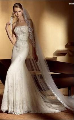 abito da sposa V2034