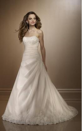 abito da sposa V2035