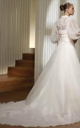 abito da sposa V2039