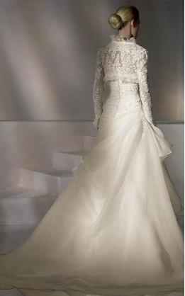 abito da sposa V2040