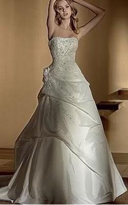 abito da sposa V2044