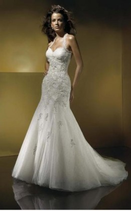 abito da sposa V2045
