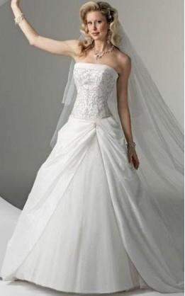 abito da sposa V2050