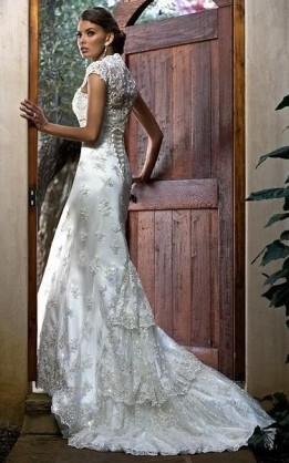 abito da sposa V2042