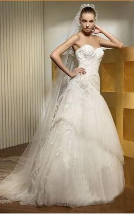 abito da sposa V2051