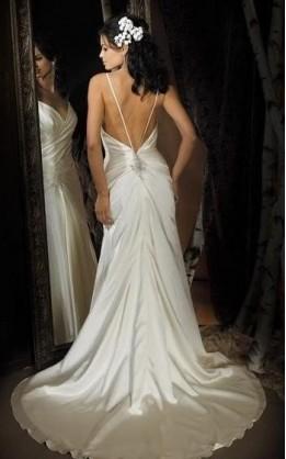 abito da sposa V2053