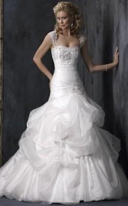 abito da sposa V2054