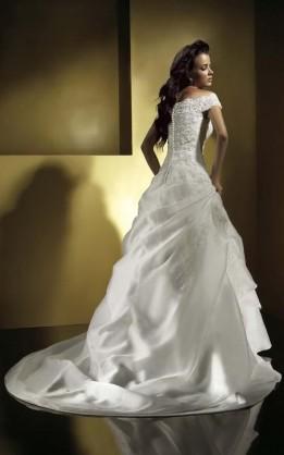 abito da sposa V2056