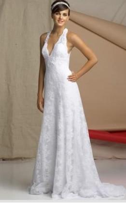 abito da sposa V2058